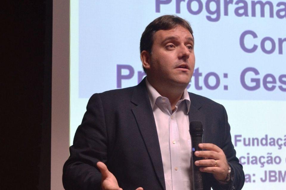 Tiago é consultor do Ciedepar para assuntos ligados ao PAR. Foto: AMP.